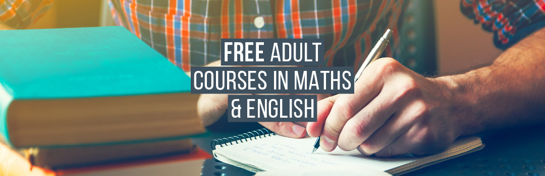Offered to ANY adult wanting to achieve equivalent of grade 4 (C) at GCSE